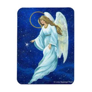 Angel Nocturne Rectangular Photo Magnet