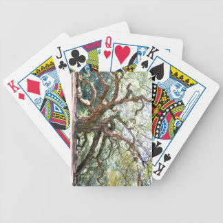 Angel Oak Tree Gifts Bicycle Playing Cards