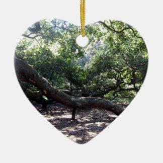 Angel Oak Tree Limbs Christmas Ornament
