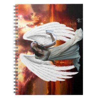 Angel of anguish Notebook