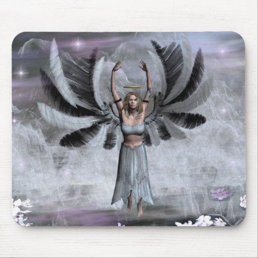 Angel of Balance Mouse Pad