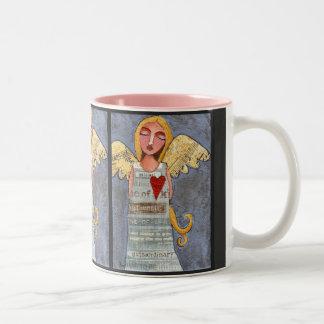 ANGEL of COURAGE - angelic love mug