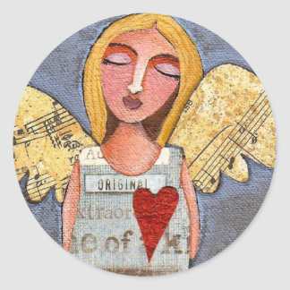 ANGEL of COURAGE - angelic love stickers