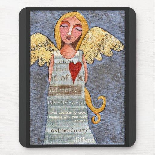 ANGEL of COURAGE - angelic mousepad