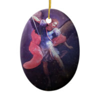 Angel of Courage Christmas Ornament