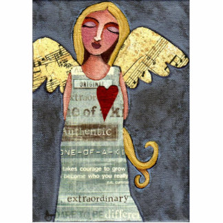 Angel of Courage - Christmas ornament
