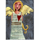 Angel of Courage - Christmas ornament Acrylic Cut Out