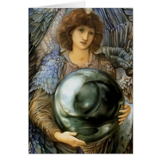 Angel of Creation by William Burne-Jones Card