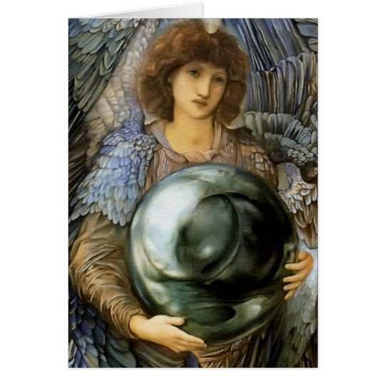 Angel of Creation by William Burne-Jones Card