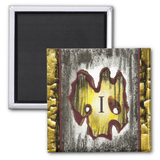 Angel of Death 2 Inch Square Magnet