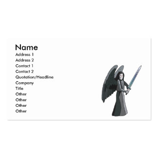 angel of death business card templates