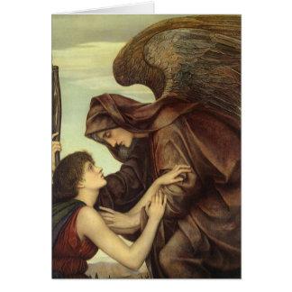 Angel of Death by Evelyn De Morgan Card