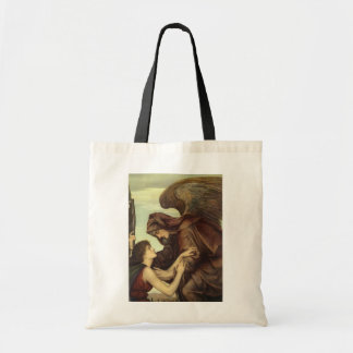 Angel of Death by Evelyn De Morgan Tote Bag