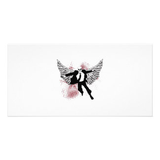 Angel of Death Personalized Photo Card