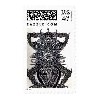 Angel of Death  Postage Stamp