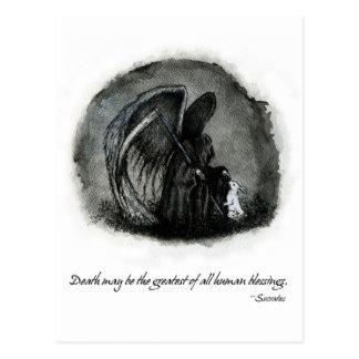 ANGEL OF DEATH POSTCARD