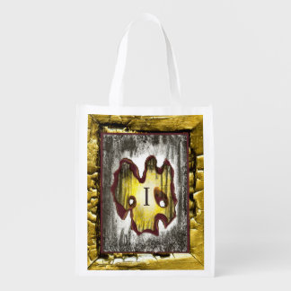 Angel of Death Reusable Grocery Bag