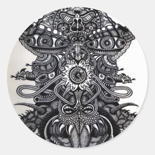 Angel of Death  Round Sticker