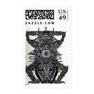 Angel of Death  Stamp