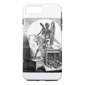 Angel of Death vintage anatomy iPhone 8 Plus/7 Plus Case