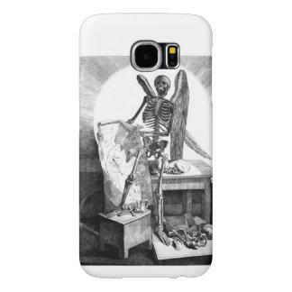 Angel of Death vintage anatomy Samsung Galaxy S6 Case