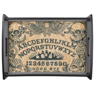 Angel of Death witch board serving tray