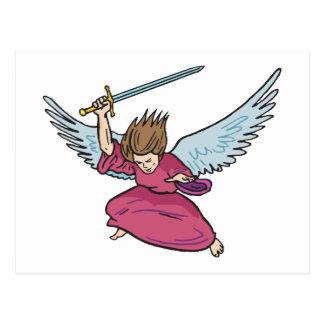 Angel Of Doom Postcard