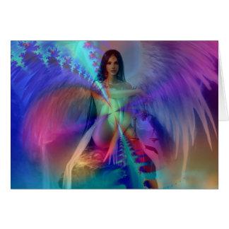 Angel of glory greeting cards