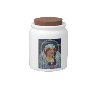 Angel of God candy jar