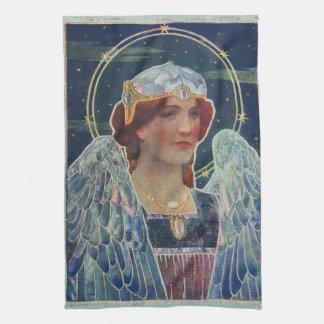 Angel of God kitchen towel