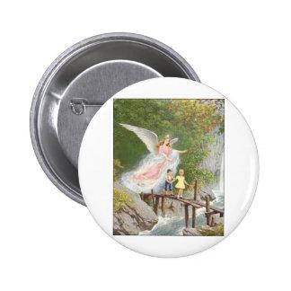 Angel of God my guardian dear! 2 Inch Round Button