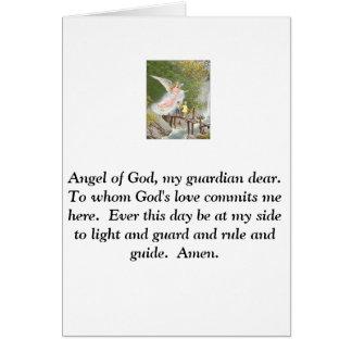 Angel of God my guardian dear! Cards