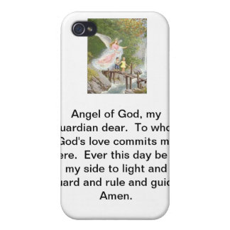 Angel of God my guardian dear! iPhone 4 Cover