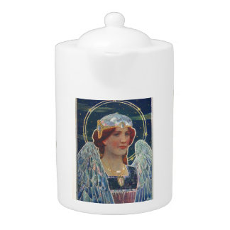 Angel of God teapot