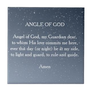 Angel of God Ceramic Tiles