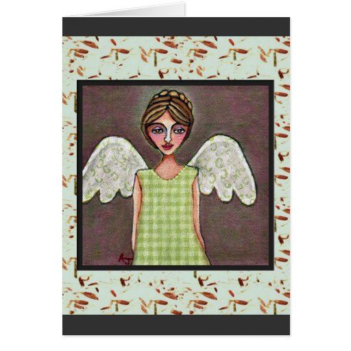 Angel of Grace - greeting card (2)