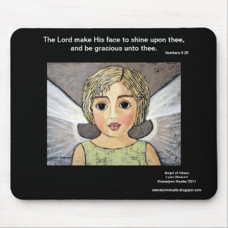 Angel of Grace Mouse Pad