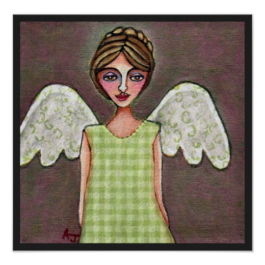 Angel of Grace-Print Poster