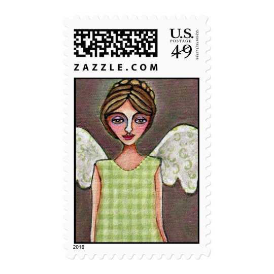Angel of Grace - stamp