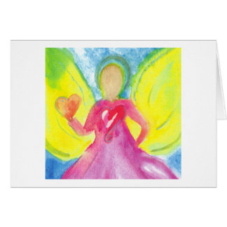 Angel of Gratitude Note Card
