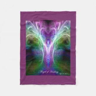 Angel of Healing Fleece Blanket