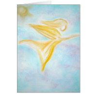 Angel of Healing Greeting Card