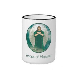 Angel of Healing Ringer Mug