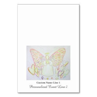 Angel of Hearts Angel Table Tent Cards
