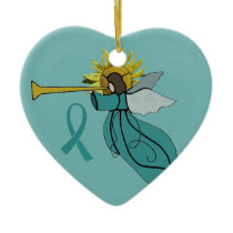 Angel of Hope Christmas Ornament