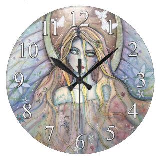 Angel of Hope Fantasy Art Clock