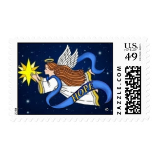 """""""Angel of Hope"""" Stamps"""