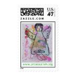Angel of Hope Postage Stamp