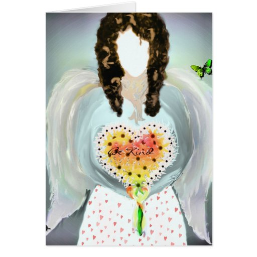 Angel Of Kindness Greeting Card