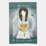 Angel Of Kindness Kitchen Towel